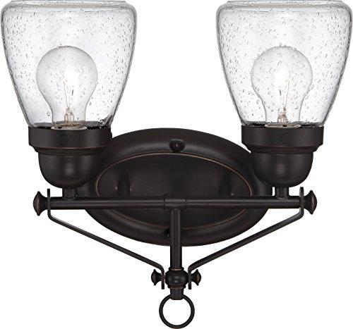 (Nuvo Lighting 60/5542 Two Light Fixture Vanity Bronze/Dark)