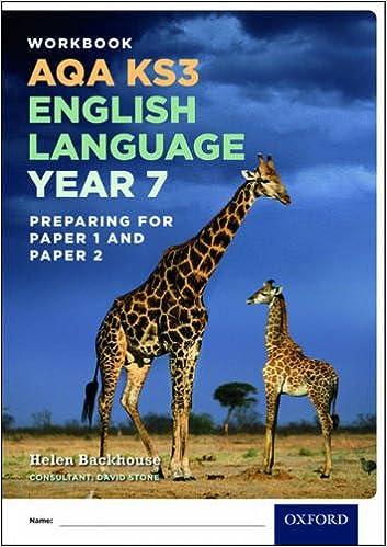 AQA KS3 English Language Year 7 Workbook