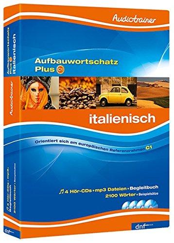 Audiotrainer - Aufbauwortschatz Plus Italienisch: Niveau C1, inklusive MP3 Dateien