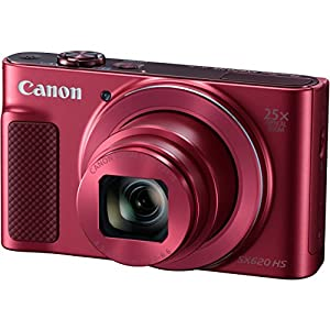 Canon PowerShot SX620 HS Digital Camera along with Deluxe Accessory Bundle and Cleaning Kit by Canon
