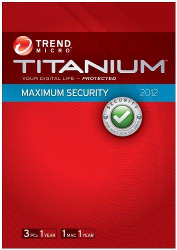 Trend Micro Incorporated TITANIUM MAXIMUM SECURITY 2012 . TITANIUM MAXIMUM SECURITY 2012 CONSUMER RETAIL PACKAGE 3U MFS-SW. CONSUMER RETAIL PACKAGE 3U
