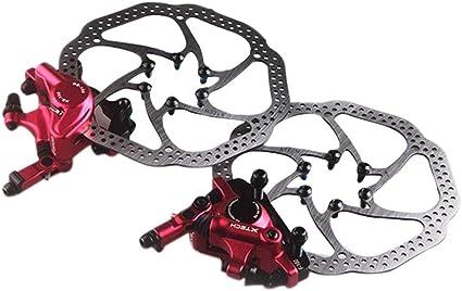 Frein /à Disque hydraulique de Bicyclette Avant//arri/ère /à Disque de v/élo de Montagne VTT Freins /à Disque de Frein de Rotor pour v/élo de Montagne /à v/élo