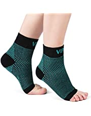 VIPEX Ankle Brace Plantar Fasciitis Socks, Compression Foot Sleeves for Men Women, 1 Pair Heel Socks for Injury Recovery, Joint Pain