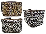 COSMETIC BAG BROWN COLOR 20*13*11CM, Case of 144
