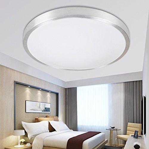 ETiME® LED Deckenleuchte Rund Deckenlampe Modern Wohnzimmer Lampe ...