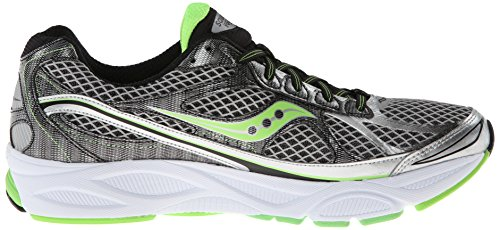 Saucony Ride 7, Men's Baby Shoes Silver / Black / Slime