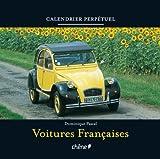 Image de calendrier perpétuel voitures françaises