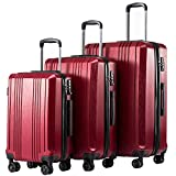 Best Hardshell Luggages - Coolife Luggage Expandable Suitcase PC+ABS 3 Piece Set Review