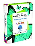 Hammermill Paper, Laser Print Paper, 32 lb, 8.5 x 11, Letter, 98 Bright, 500 Sheets / 1 Ream (104646), Made In The USA