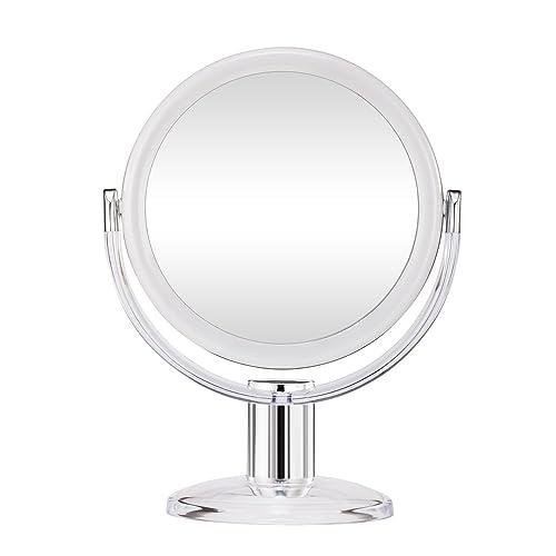 Seven Inch 7 Quot Vanity Makeup Mirror By Mirrorvana 1x