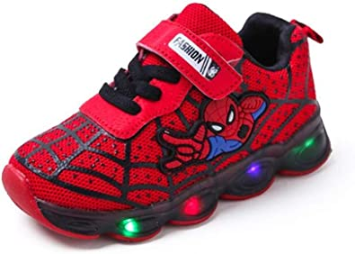 Shoes With Led Lights Girls Shoes Lighted Trainers Kids Glowing Sport Sneakers