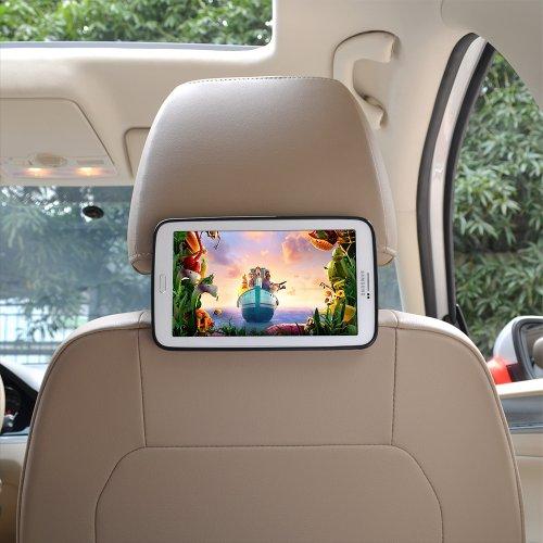 Bayan Car Headrest Mount Holder for 7 Inch Samsung Galaxy Tab 3 P3200/P3210/T210/T211-Version 3