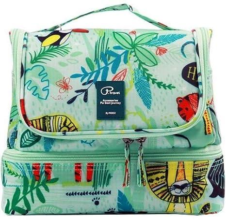 810841330d Beauty Case da Viaggio Borsa da Toilette Tuscall Borsa da Viaggio  Impemeabile Ripiegabile Cosmetico Bag per