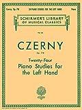 Czerny: Twenty-Four Piano Studies for the Left Hand, Op. 718 (Schirmer's Library of Musical Classics)
