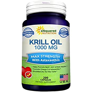 Olympian labs krill oil 60 softgels 30 for Fish oil with astaxanthin
