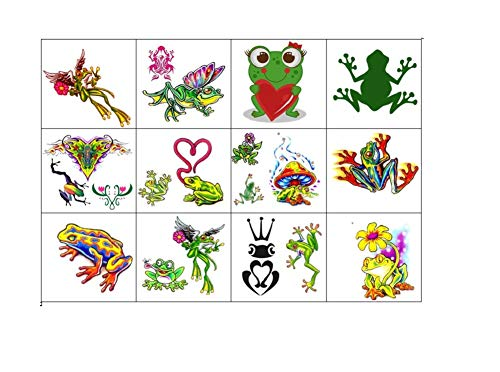 KazCreations Frog Collection (Frog Temporary Tattoos)