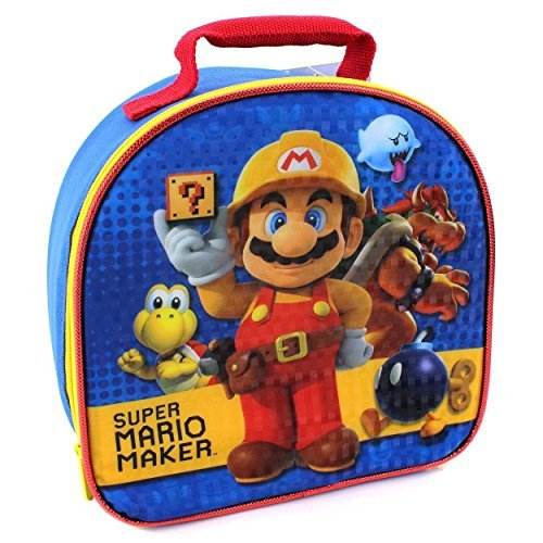 Super Mario Soft Lunch Box (Super Mario Maker) by Global Design