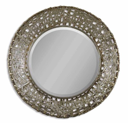 Uttermost Alita Mirror 3 x 32 x 32, Champagne, 32.3