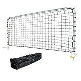 AGORA Aluminum Rebounder, White, 7 x 14-Feet