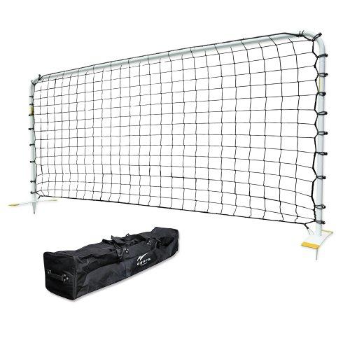 AGORA Steel Rebounder, White, 5 x 10-Feet by AGORA