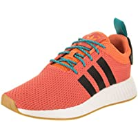 adidas Originals NMD_R2 Primeknit Men's Shoes (Trace Orange / Gum / White)