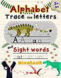 Alphabet Trace The Letters and Sight Words: Tracing Letter for Kids in Dinosaur Theme (Alphabet Letter Writing)