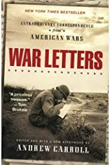 War Letters: Extraordinary Correspondence from American Wars Paperback