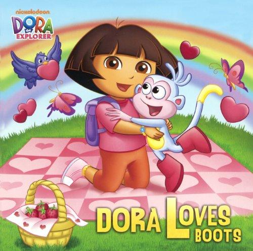Dora Loves Boots (Turtleback School & Library Binding Edition) (Dora the Explorer) -