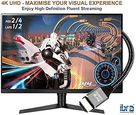 2.0b PS5 C/âble HDMI 2.1 de 1,5m 8k @ 30Hz VRR eARC Haut d/ébit Ethernet Dynamic HDR 10+ PS4 4k @144Hz @240Hz DSC Primewire HDMI 2.0a UHD II 8k @ 120Hz DSC 3D Dolby Vision