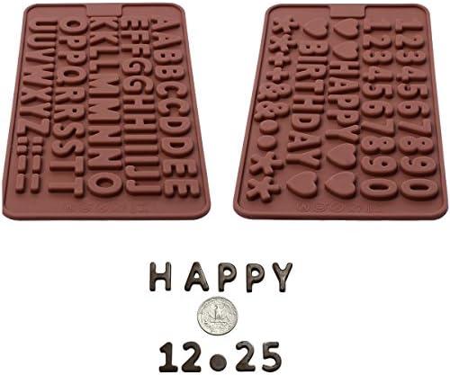 Silicone Chocolate Birthday Decorations Symbols product image