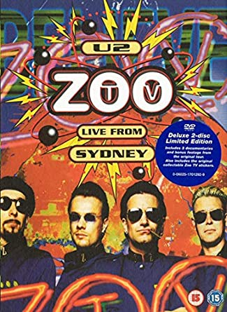 Amazon com: U2 - Zoo TV Live from Sydney (Limited Edition