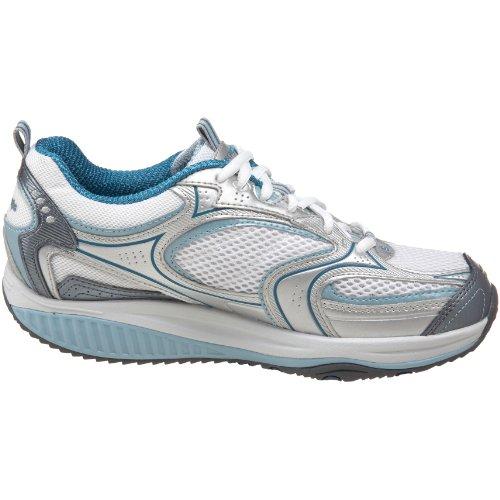 Skechers Kvinders Form Ups Xf Acceleratorer Mode Sneaker Sølv / Hvid / Blå zGC6II