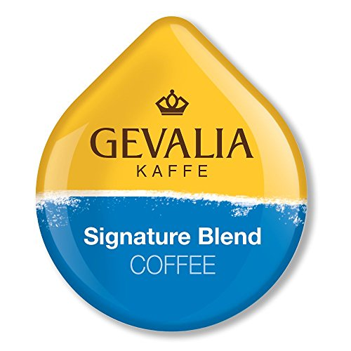 Gevalia Signature Blend Coffee, T-Discs for Tassimo Hot Beverage System, 16-Count Packages