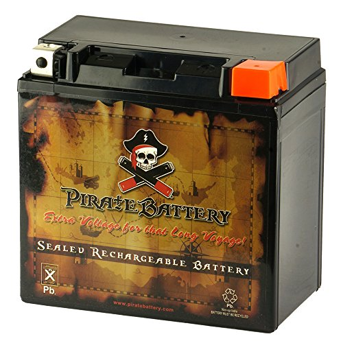 Pirate Battery YB14L-A2 High Performance Power Sports Battery -