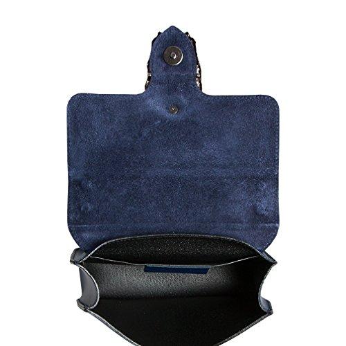 Body Schwarz Blau 5127 Black 5128 Bag Women's Cross SKUTARI H1OvwO