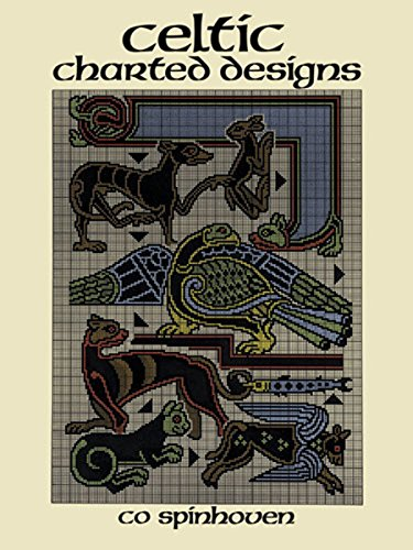 Celtic Charted Designs (Dover Embroidery, Needlepoint) (Border Needlepoint)