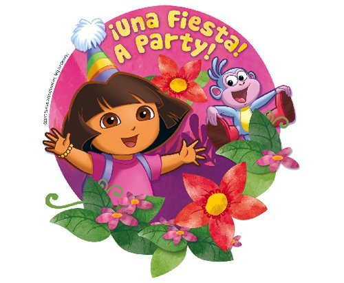 Dora the Explorer Edible Cupcake Toppers Decoration by A Birthday Place -  MS65O1Z