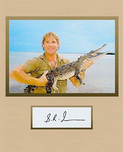 c Hunter, 8 X 10 Photo Display Autograph on Glossy Photo Paper (Croc Photo)
