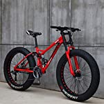 CDFC-Mountain-Bike-26-Pollici-Fat-Tire-Hardtail-Mountain-Bike-Doppio-Telaio-Sospensione-E-Forcella-della-Sospensione-della-all-Terrain-Mountain-Bike