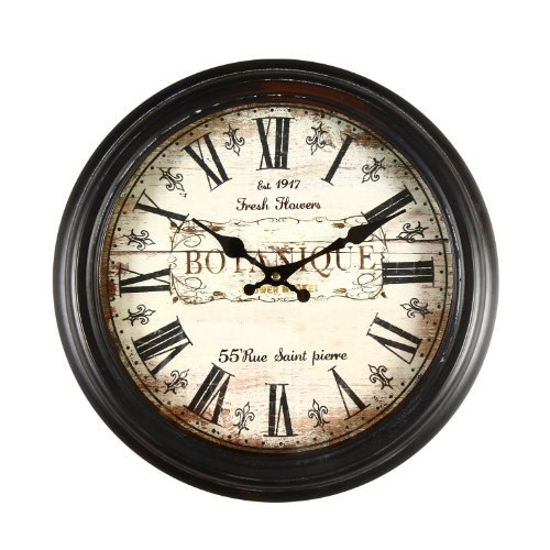 Adeco Round Wall Hanging Clock
