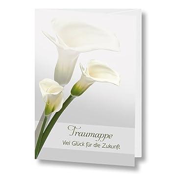 AUSVERKAUF Traumappe Papillon A4 Mappe Trauung Stammbuch der Familie Stammbücher