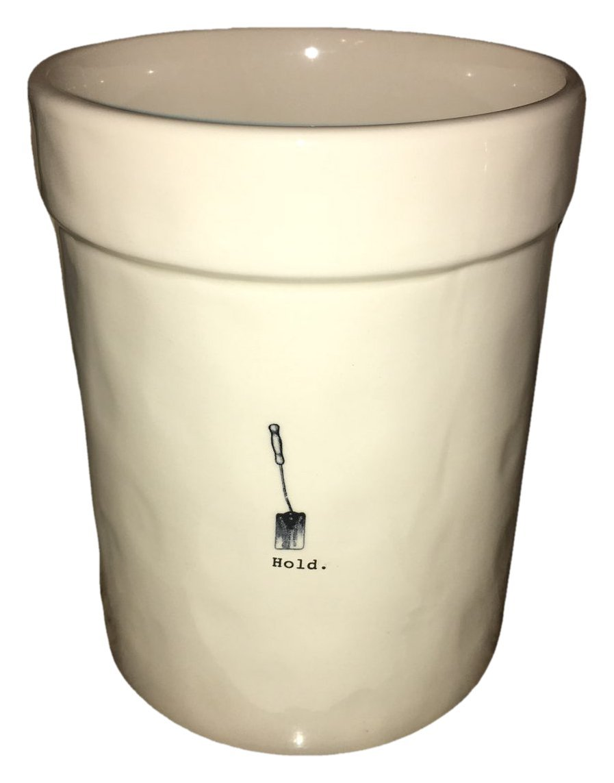 Rae Dunn by Magenta Ceramic Icon Large Hold Utensil Container Crock Artisan Collection