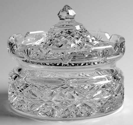 Waterford Samuel Miller Covered Butter Dish (Covered Dish Waterford)