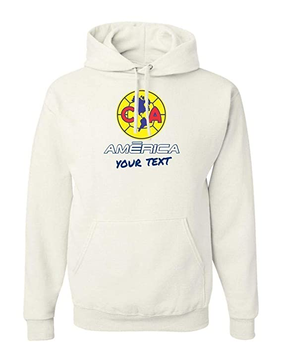 Amazon.com: America Aguilas Mexico Hooded Hoodie Hoody Sudadera with Free Custom Text(Optional): Clothing