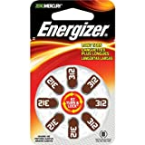 NEW HEARING AID SIZE 312 8-PKSIZE 312 MERCURY FREE (Batteries & Chargers) by Energizer
