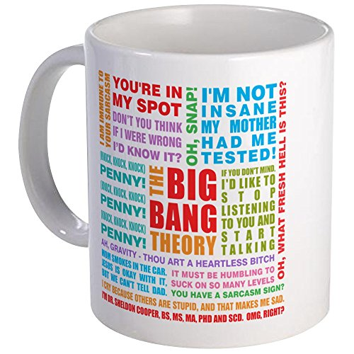 CafePress Bang Quotes Unique Coffee
