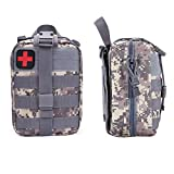 Product review for FIRECLUB Compact Tactical MOLLE Rip-Away EMT Medical First Aid Utility Pouch 1000D Nylon Carlebben for hiking, biking, rock climbing, hunting, sports