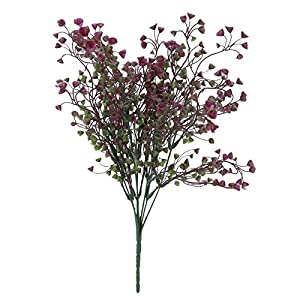 Asiproper Plastic Simulation Lavender Flower Artificial Plant Romantic Wedding Gift(4 46