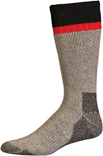 Mossy Oak Men's Mountaineer Acrylic Wool Heavy Weight Crew Socks , 2 Pair Pack