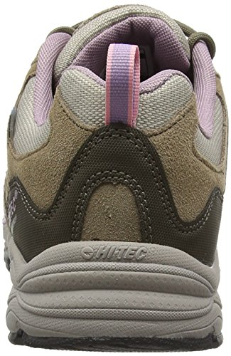Mujer Grey Waterproof Beige Low Alto de Hi 041 Tec Rise Light Horizon Ii Zapatos Senderismo Low Taupe pvRw6nqU